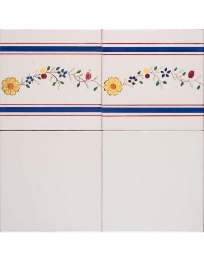 Bianco antico con bordura genova r. 326 7