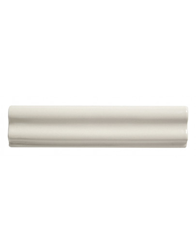 20x5 Bordura Sagomata Bianco Antico